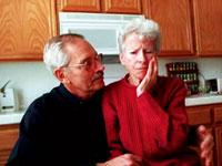 """Image: A common health problem with the elderly """"Alzheimer's disease"""""""