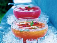 Image: This month's recipe is: Sangria Punch