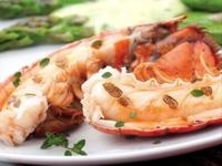 Image: Lobster Tails in Champagne Sauce