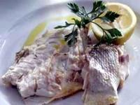 This month's recipe is: Seabass roasted with rosemary and lemon