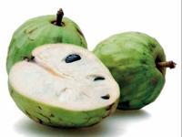 Chirimoyas or Custard Apples in English - Чиримояс или «яблоки с заварным кре