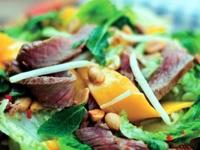 Image: Thai Beef & Mango Salad - The recipe by the Chef at COCOMO Cocktail Bar & Restaurant