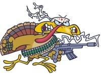 Image: Beware of the Killer Turkey