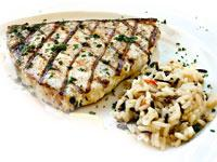 This month's recipe is: Grilled Swordfish