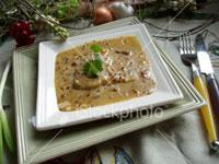 Image: This month's recipe: Rabbit with almonds & chestnuts