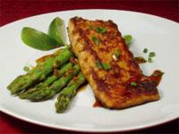 This month's recipe is: Honey and Soy glazed Salmon