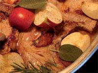 This month's recipe is: Baked Pork and Apple