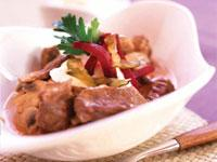 Image: This month's recipe is: Boeuf Bourguignonne