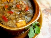 This month's recipe is TURKISH WEDDING SOUP