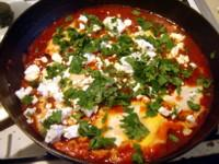 This month's recipe is: Shakshouka
