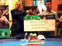 Poker Marbella. Thomas O'Shea wins 11,500€ at the VII stage of the MCP at the Casino Marbella