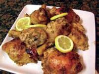 LEMON & ROSEMARY CHICKEN