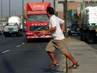 Beware of Pedestrians! - Остерегайтесь пешеходов!