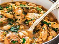 Image: Spicy chicken & bean stew