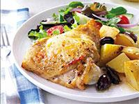Image: Mediterranean Style Lemon-Garlic Chicken