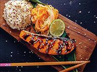 Oriental Style Marinated Salmon