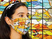 Image: Las mascarillas del Museo Thyssen estan inspiradas en sus obras de arte y son asi de bonitas