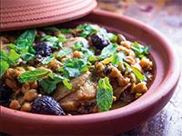 CHICKEN & FIGS TAJINE